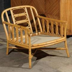 Ficks Reed Chair Covers For Home Decorative Pair Of Vintage Rattan Lounge Chairs By