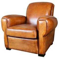 French Club Chairs For Sale Antique Morris Chair Art Deco Leather At 1stdibs
