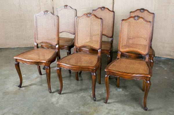French Louis XV Dining Chairs