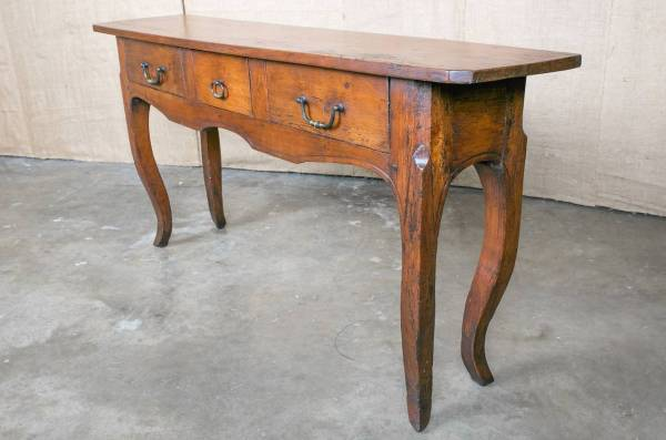 Country French Louis Xv Style Sofa Console Table 1stdibs