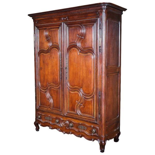 Louis Xv Period Armoire With Secret Drawer 1stdibs