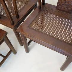 Henredon Asian Dining Chairs Turquoise Velvet Chair Set Of Four Inspired By Furniture At