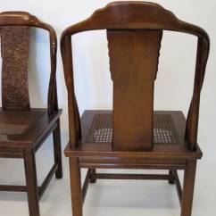 Henredon Asian Dining Chairs Revolving Chair India Set Of Four Inspired By Furniture At