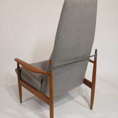 High Back Contemporary Chairs Small Recliner Canada Mid Century Modern Lounge Chair At 1stdibs