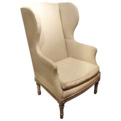 Arm Chairs For Sale Motorized Easy Chair 19th Century French Wing Armchair At 1stdibs