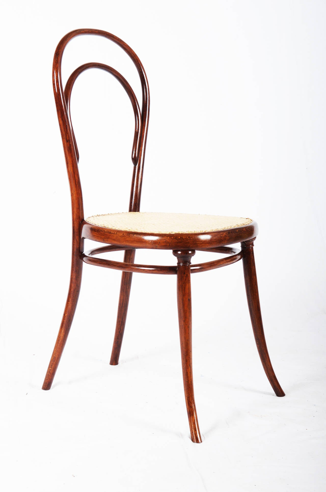 Bent Wood Chairs Thonet Bentwood Side Chair No 14 With First Paper Label
