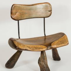 Handmade Wooden Chairs Solid Wood Dining Room And Iron For Sale At 1stdibs