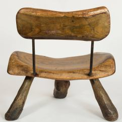 Handmade Wooden Chairs Circle Lounge Chair Wood And Iron For Sale At 1stdibs