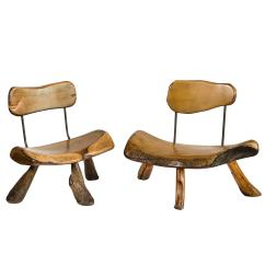 Handmade Wooden Chairs Swivel Recliner Ireland Wood And Iron At 1stdibs