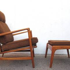 Modern Lounge Chair And Ottoman Set Lowes Patio Table Chairs 1950 Danish Mid Century