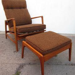 Modern Lounge Chair And Ottoman Set Ikea Kid Chairs 1950 Danish Mid Century