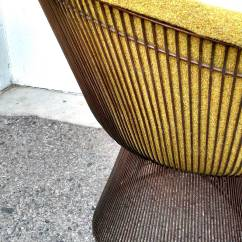 Mid Century Modern Wire Chair Plycraft For Sale Knoll Warren Platner Lounge Chairs With