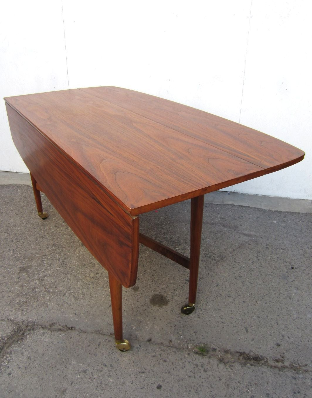 drexel sofa table xenia gray contemporary 54822 heritage gl top oriental