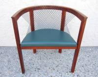 Mid-Century Danish Modern Niels Jorgen String Armchairs ...
