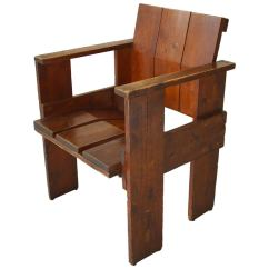 Gerrit Rietveld Crate Chair Rental Austin Albatros By For Sale At 1stdibs