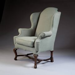 Large Wingback Chair Patio Chairs George I Style Scale Wing For Sale At 1stdibs