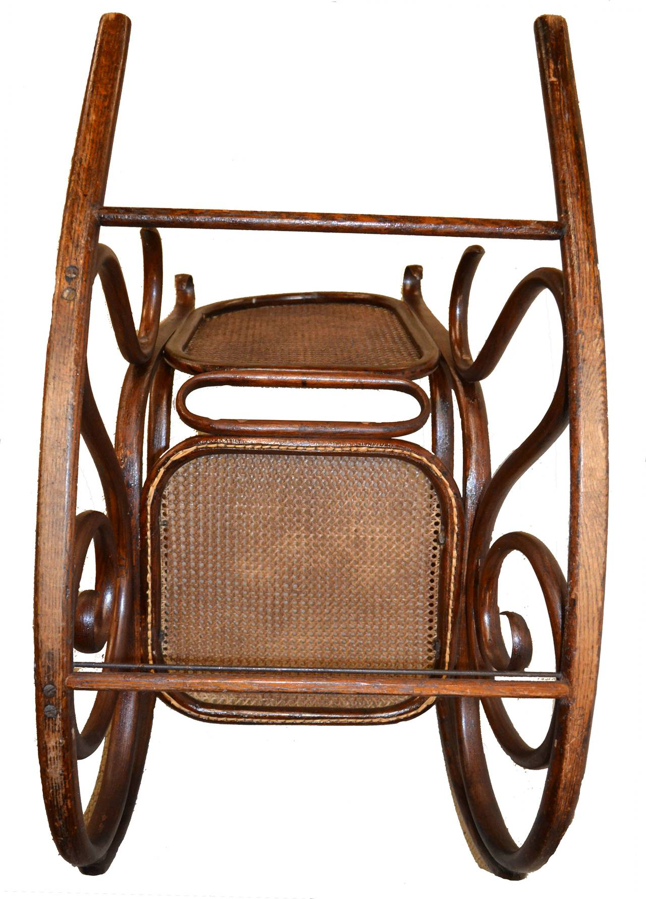bent wood rocking chair wheelchair ramp plans 19th century thonet bentwood rocker at 1stdibs