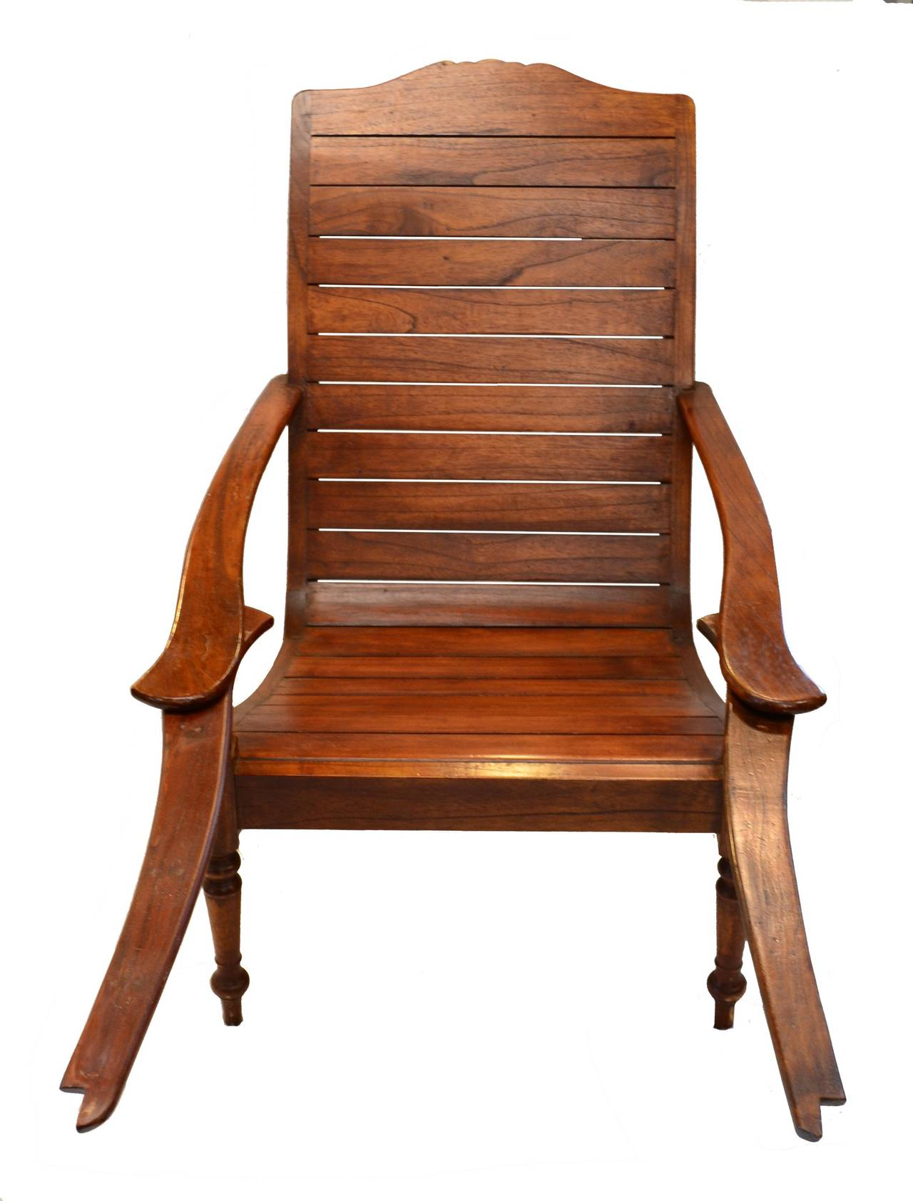 plantation style chairs craftsman folding lawn chair with swivel out footrests for sale at 1stdibs