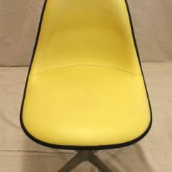 Fiberglass Shell Chair Zero Gravity Desk Mid Century Herman Miller At 1stdibs