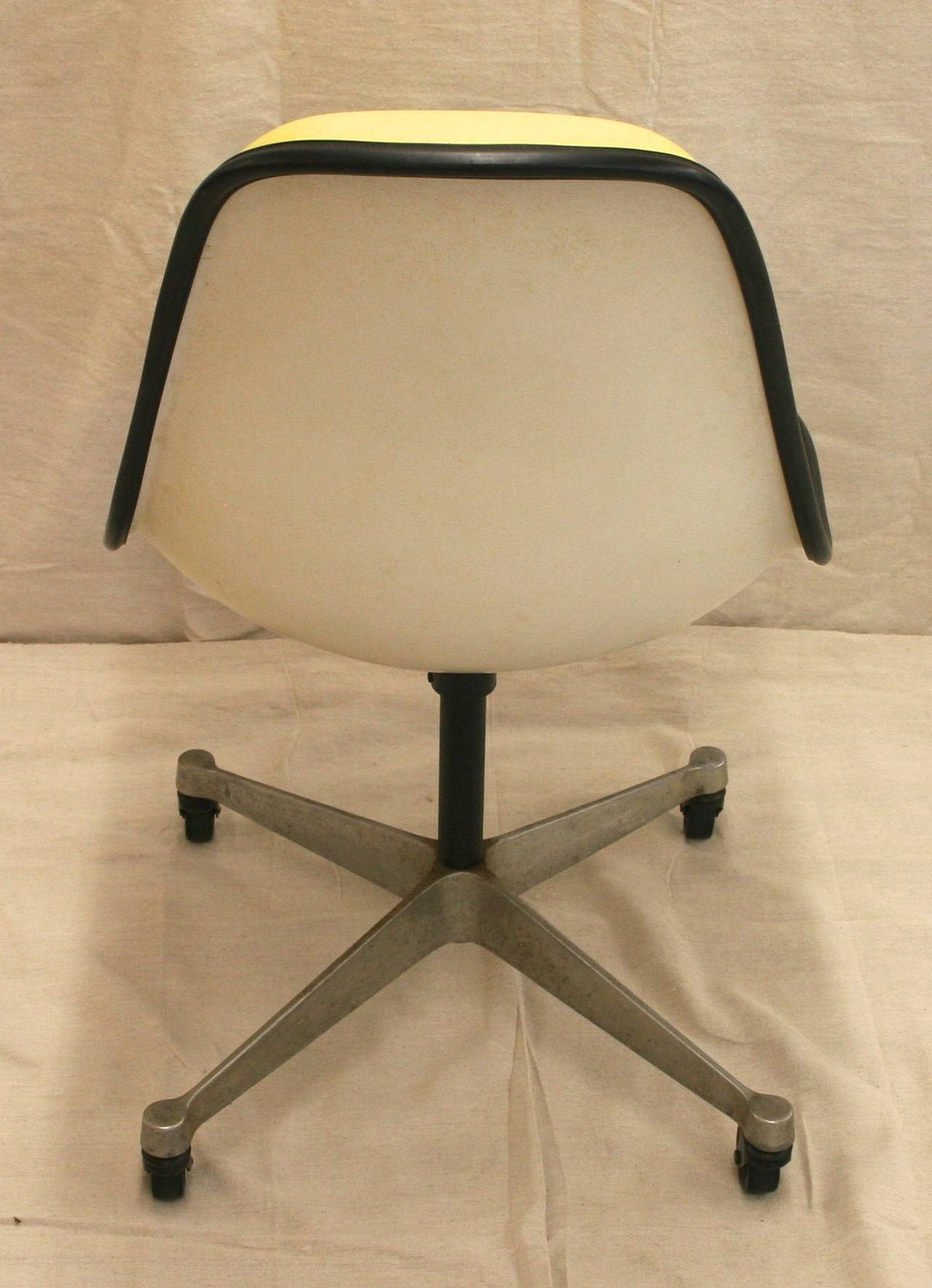 fiberglass shell chair antique victorian folding rocking mid century herman miller at 1stdibs
