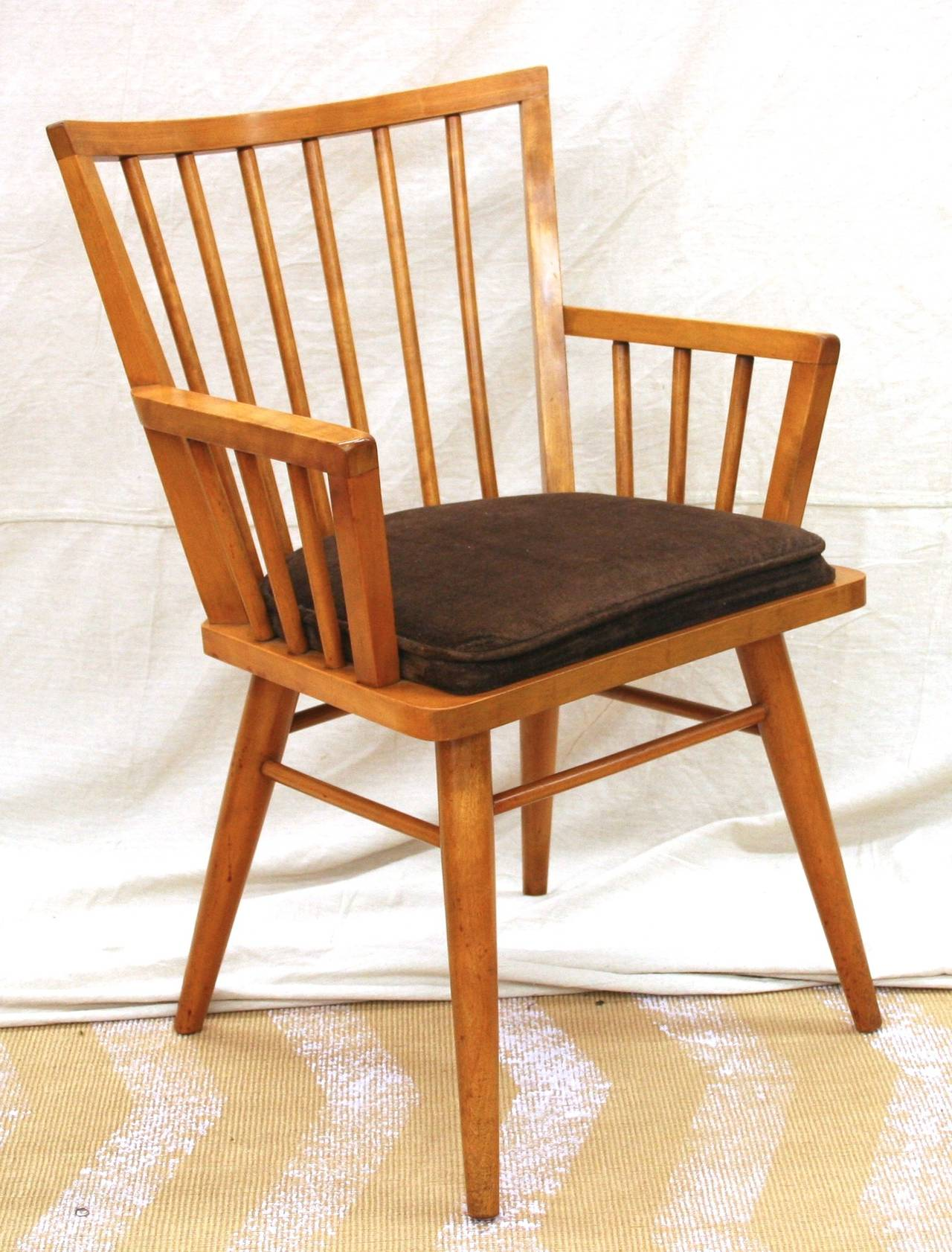 conant ball chair pottery barn irving reviews dining set by four pieces at 1stdibs