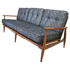 Mid Century Danish Chair Good Computer Chairs Modern Sofa With Walnut Frame And New