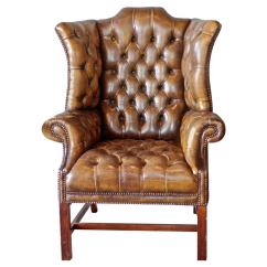 Leather Wing Chairs Chair Covers At 1stdibs
