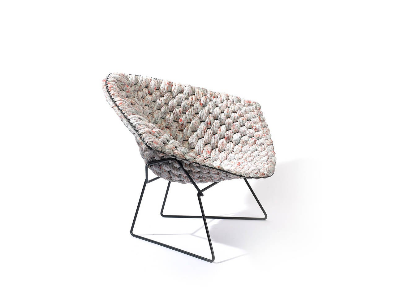 bertoia wire chair original living room styles diamond revisited by clément