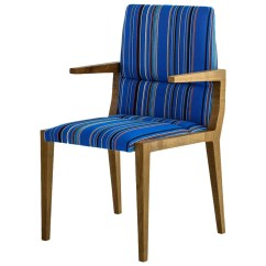 Blue And White Dining Chairs Chair Cover Depot Reviews Julian With Fumed Oak Base
