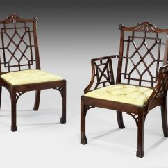 Chippendale Dining Chair Best White Ergonomic Office Chairs Set Of 12 Chinese Mahogany Side For