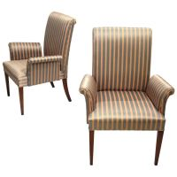 Tommi Parzinger Armchairs at 1stdibs