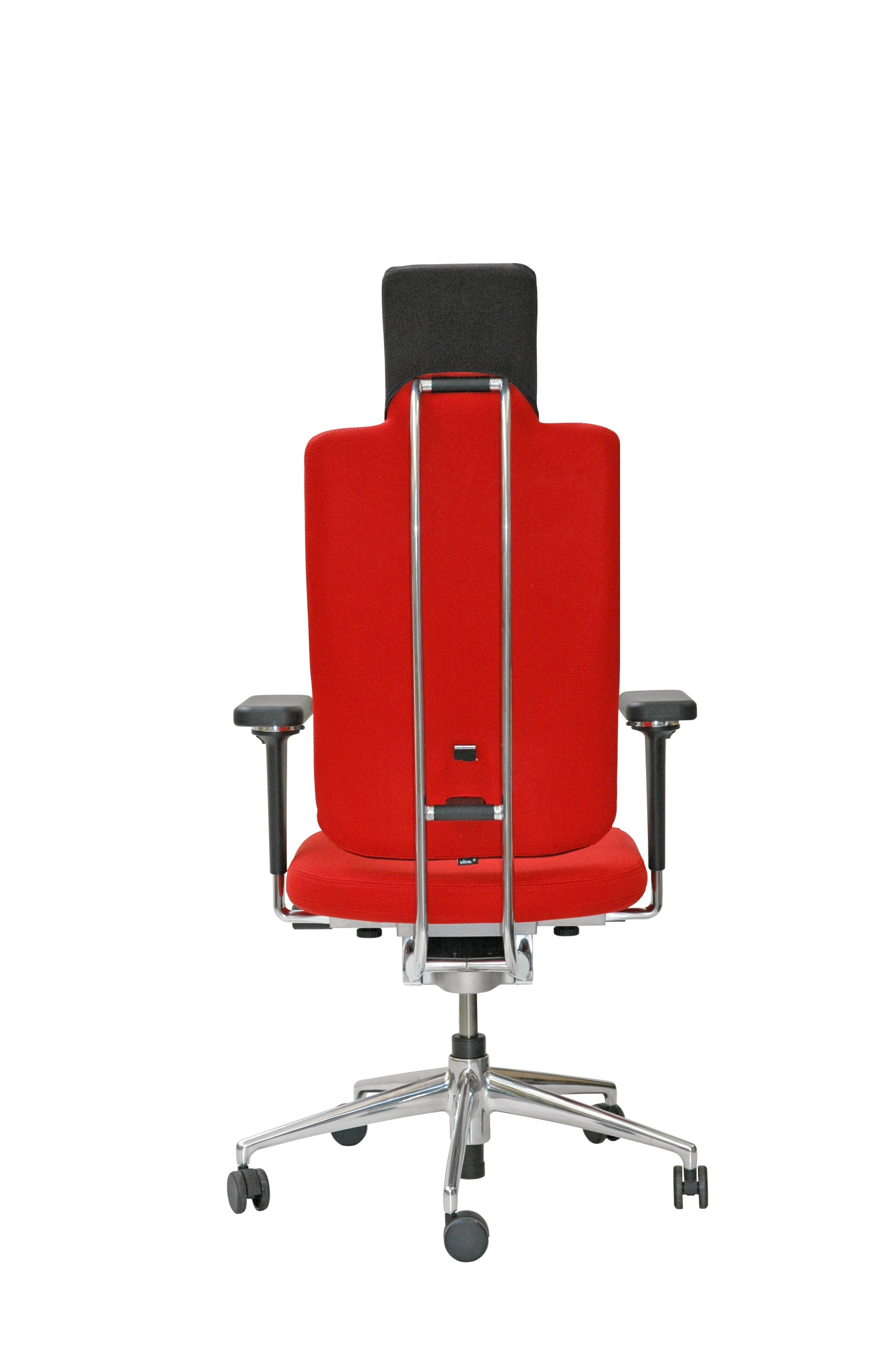 Red Desk Chair Vitra Headline Office Chair In Red With 3d Armrest By Mario Claudio Bellini