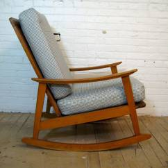 Mid Century Modern Rocking Chair Desk N For Sale At 1stdibs