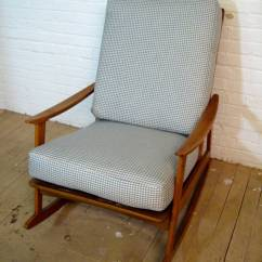 Mid Century Modern Rocking Chair Swivel Outdoor For Sale At 1stdibs