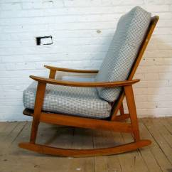 Mid Century Modern Rocking Chair Swing Bunnings For Sale At 1stdibs
