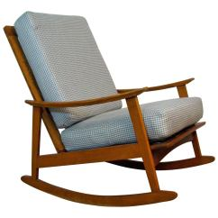 Mid Century Modern Rocking Chair King Houston Area For Sale At 1stdibs