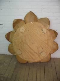 Custom Made Lotus Flower Meditation Chair at 1stdibs
