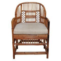 Antique Cane Seat Dining Chairs My Little Pony Table And Set Of Six Vintage Bamboo Rattan Chippendale At