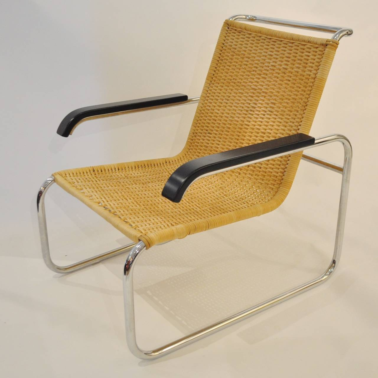 marcel breuer chair recycled plastic adirondack chairs uk pair of b35 lounge at 1stdibs