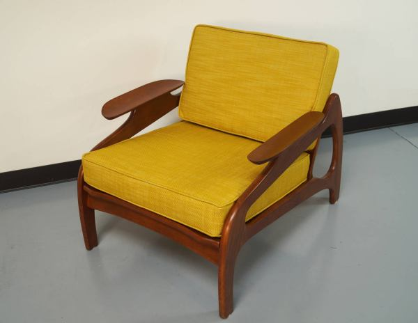 Vintage Lounge Chair by Adrian Pearsall at 1stdibs