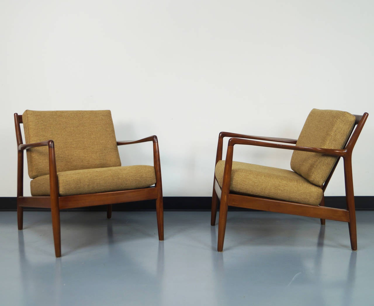 Midcentury Chairs Mid Century Lounge Chair By Folke Ohlsson At 1stdibs