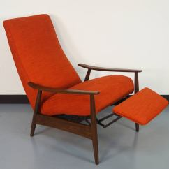 Recliner Club Chair Revolving Manufacturers In Kolkata Vintage Reclining Lounge By Milo Baughman At 1stdibs