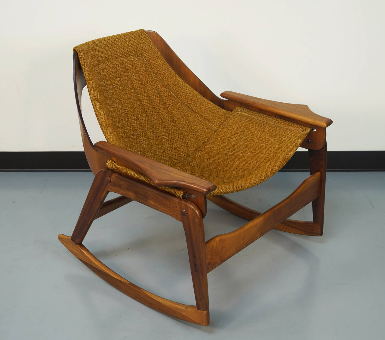 sling chairs for sale pedicure chair parts suppliers rocking by jerry johnson at 1stdibs