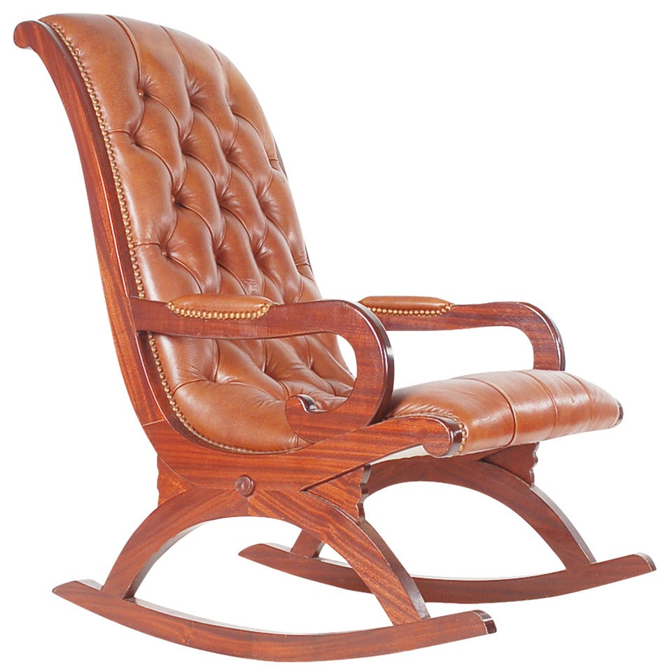 Rocking Chair Chesterfield AY96  Jornalagora