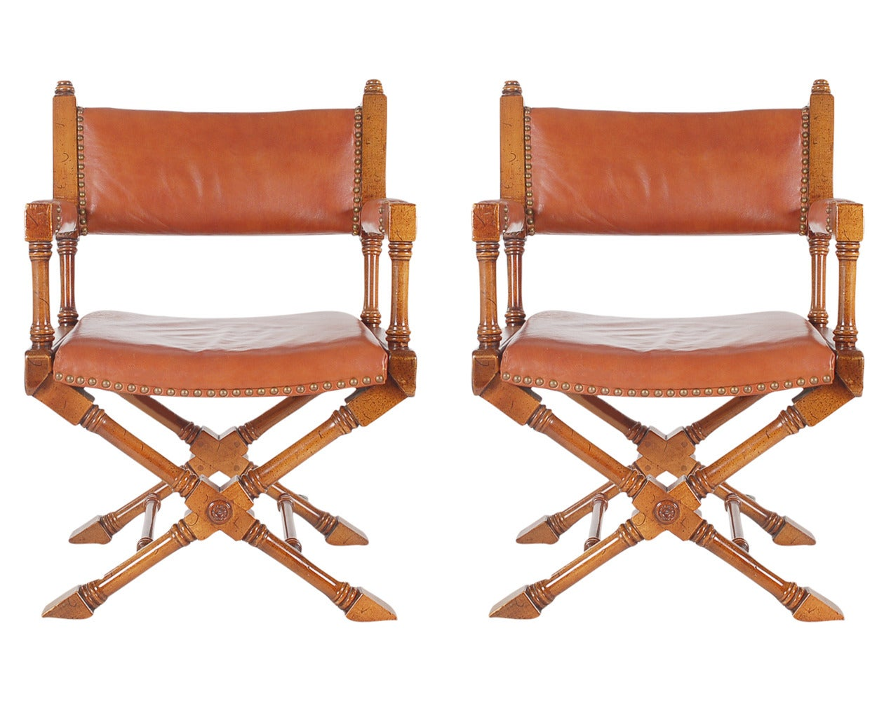 leather directors chair wicker ukulele vintage campaign or director chairs at 1stdibs