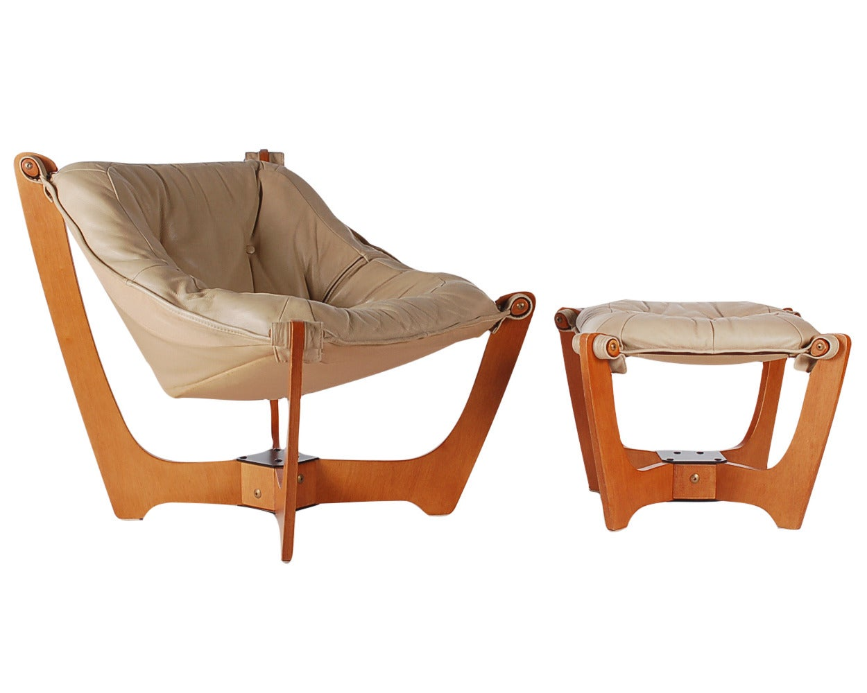 Scandinavian Leather Chair