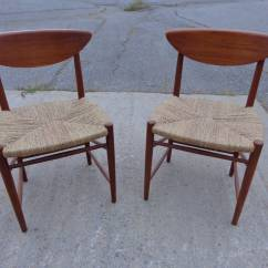 Seagrass Dining Chairs Cleo Pedicure Chair Parts By Hvidt And Mørlgaard In Teak
