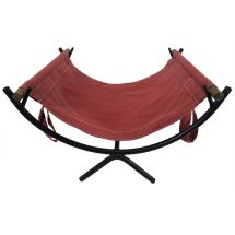 1951 George Nelson Log Rack With Canvas Carrier 1stdibs