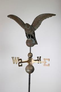 19th Century Copper Eagle Weathervane Custom Steel