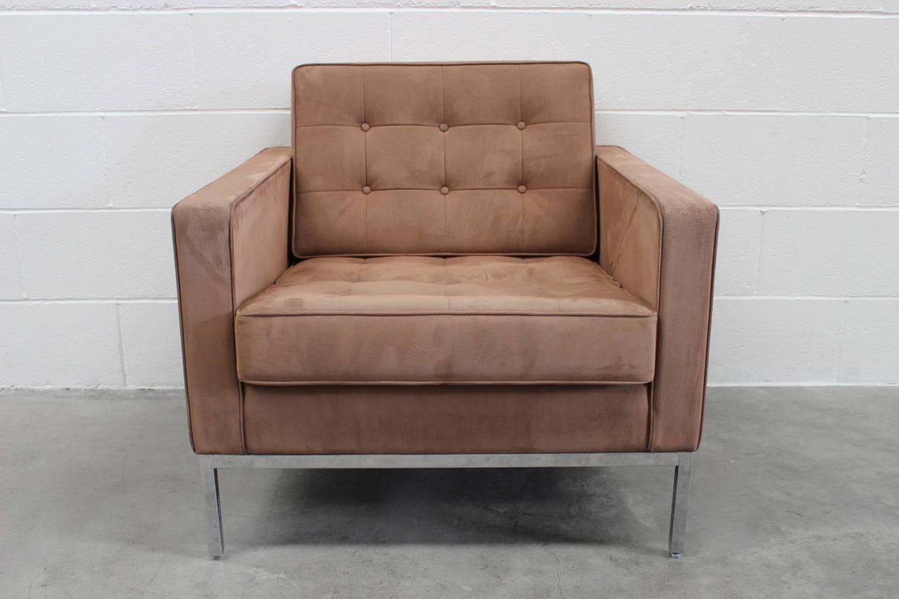 armless armchairs uk fishing chair brands knoll studio
